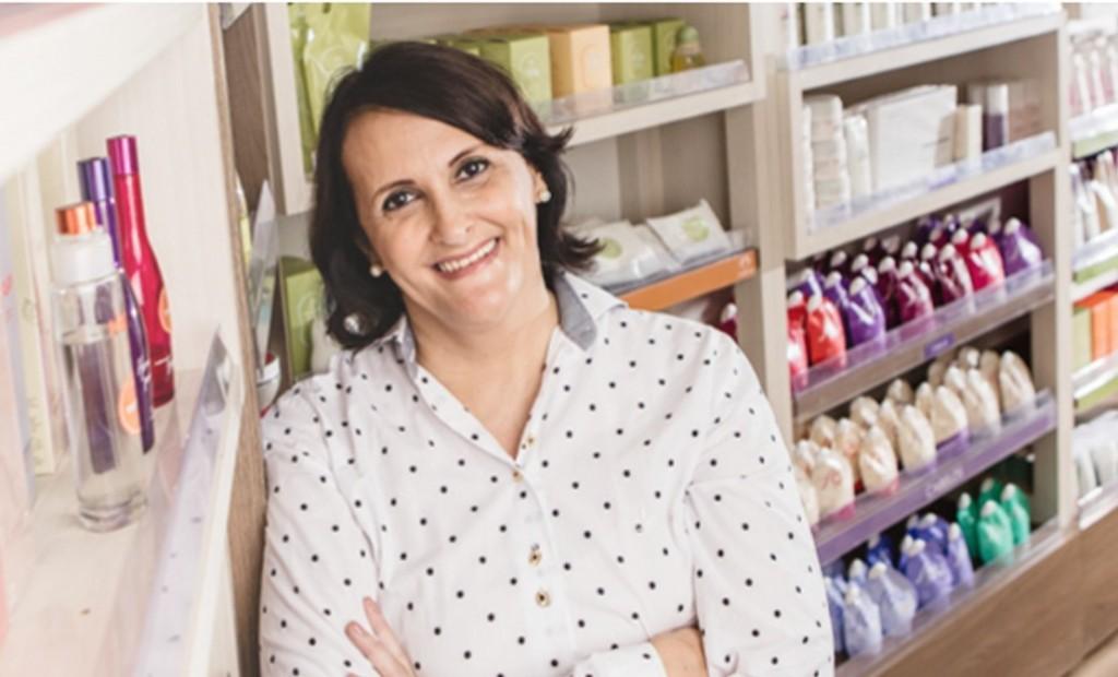 Márcia Carvalheira, consultora da Natura_cred Arquivo Pessoal