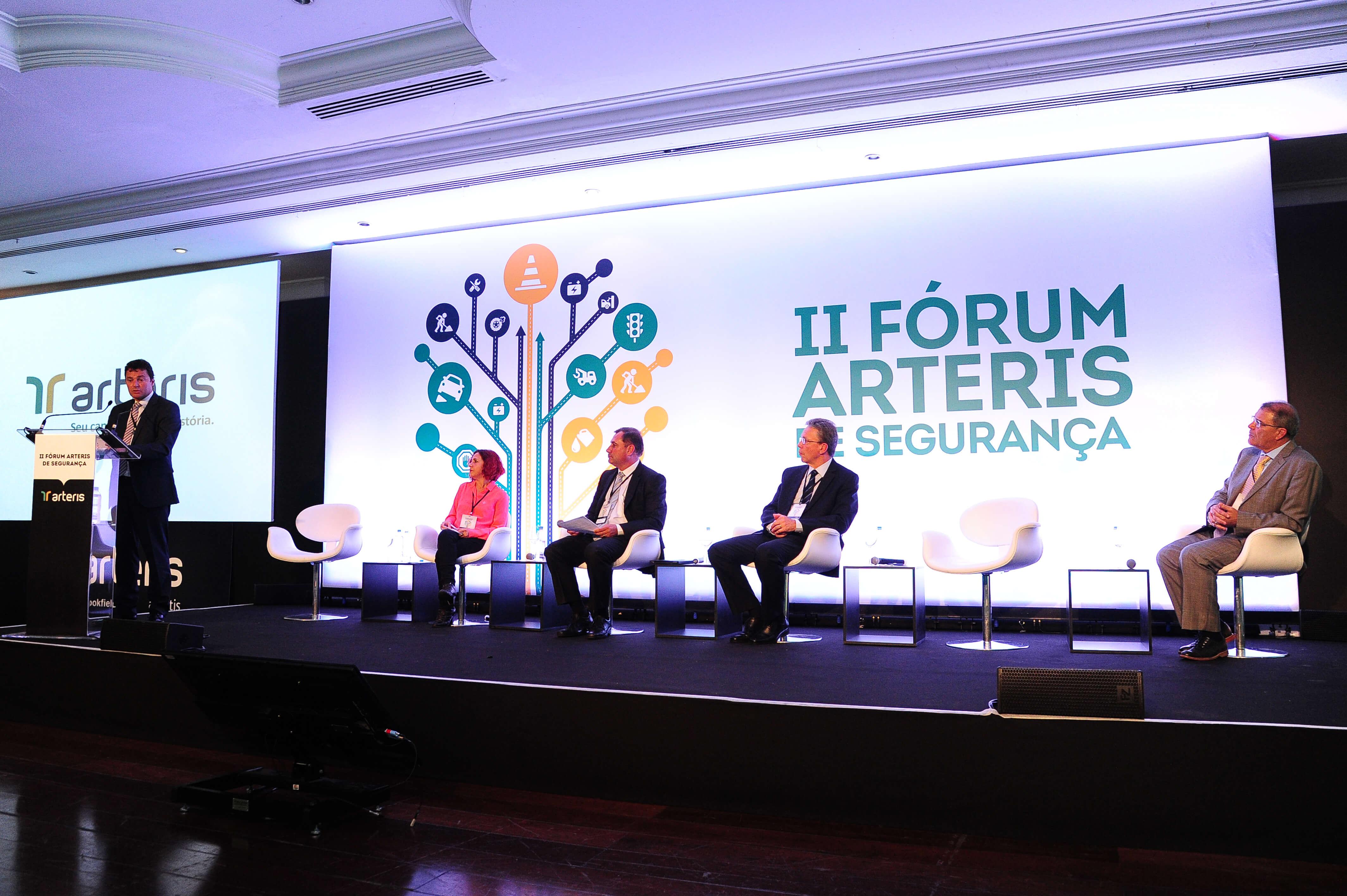 Arteris realiza o 5º Fórum sobre segurança, inovação e mobilidade; relembre edições anteriores
