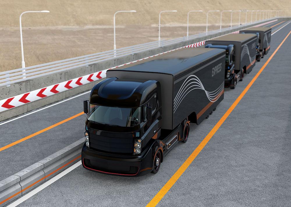 O futuro do transporte de cargas