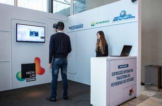 Realidade virtual: 65 anos de Petrobras em uma experiência imersiva e interativa