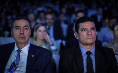 Debate 'Estadão Discute Corrupção' conta com participações de Moro e Barroso