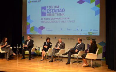 Fórum Estadão Think destaca os resultados e desafios de programa do SUS