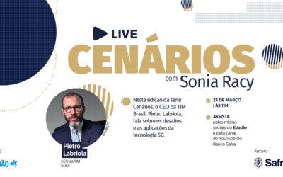 CEO da Tim Brasil participa de bate-papo com Sonia Racy