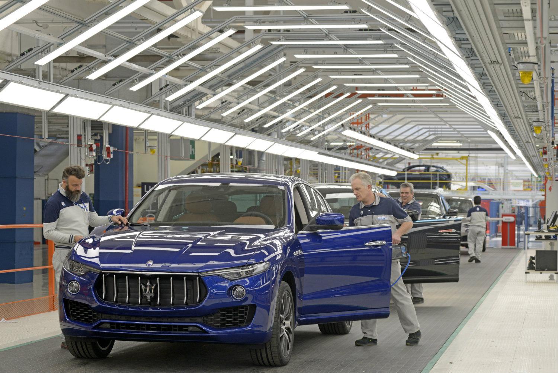 A nova fábrica da companhia é uma das mais modernas do mundo (Foto: Divulgação/Maserati)