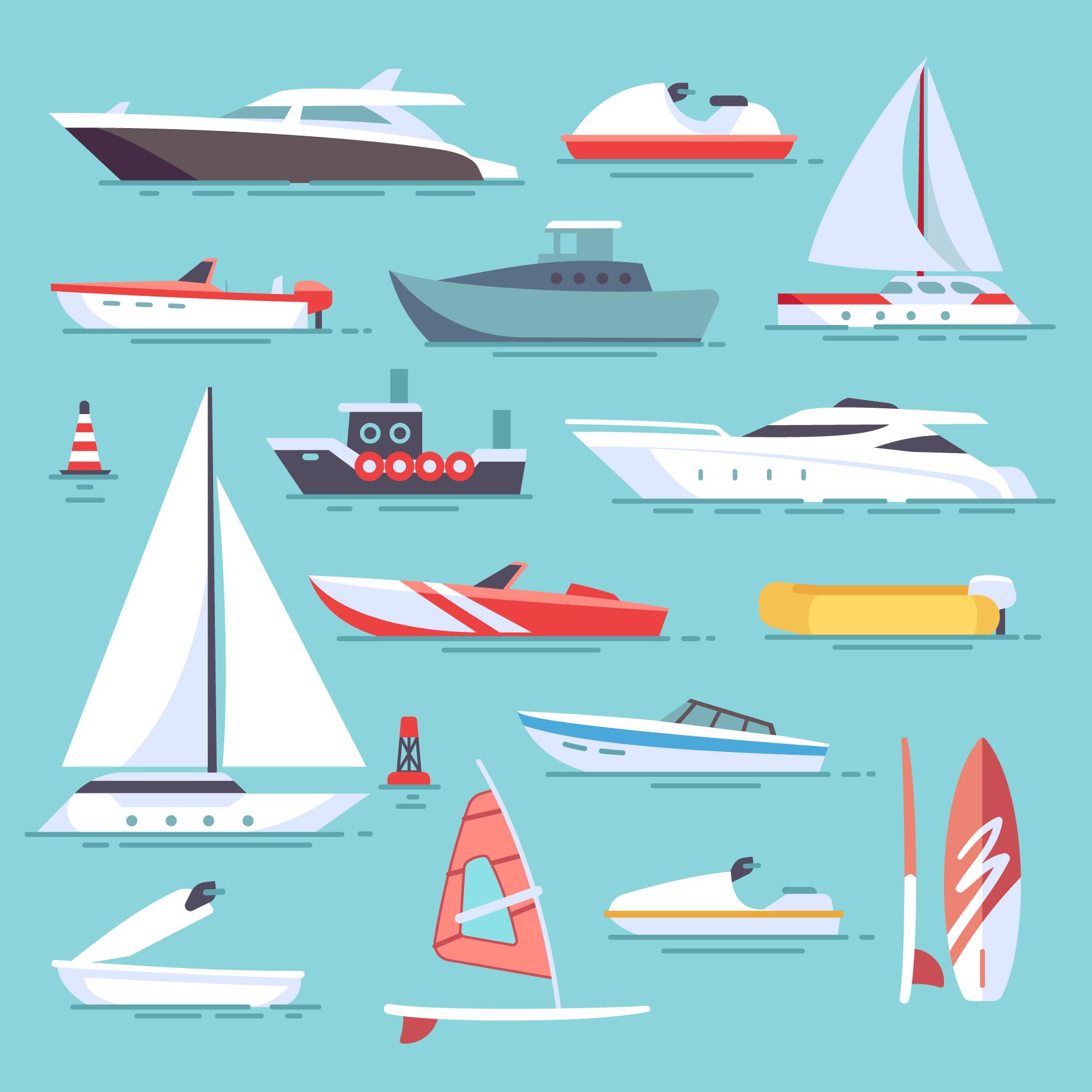Leilão vende barcos e jet skis