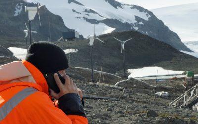 Os desafios de implementar o novo sistema de telecomunicações da OI na Antártida
