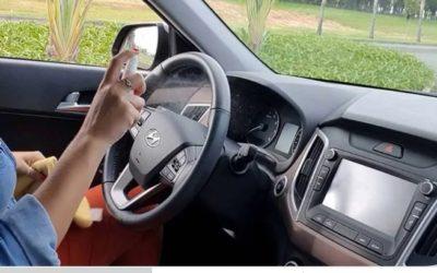 Como fazer a limpeza do carro em tempos de coronavírus