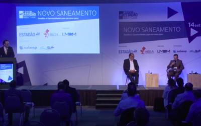 Fórum Estadão Think | Novo saneamento: desafios e oportunidades para um novo setor